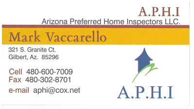 arizonapreferredhomeinspectionscard