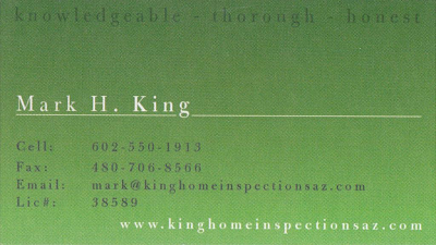 kinghomeinspectionscard